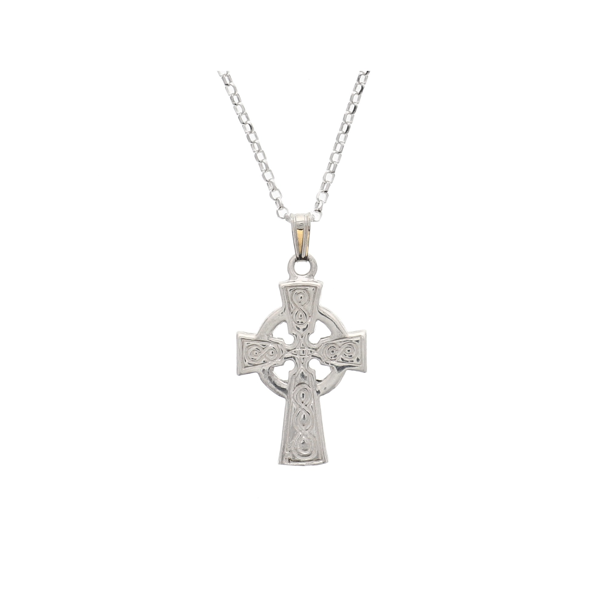 s mens celtic cross p men necklace