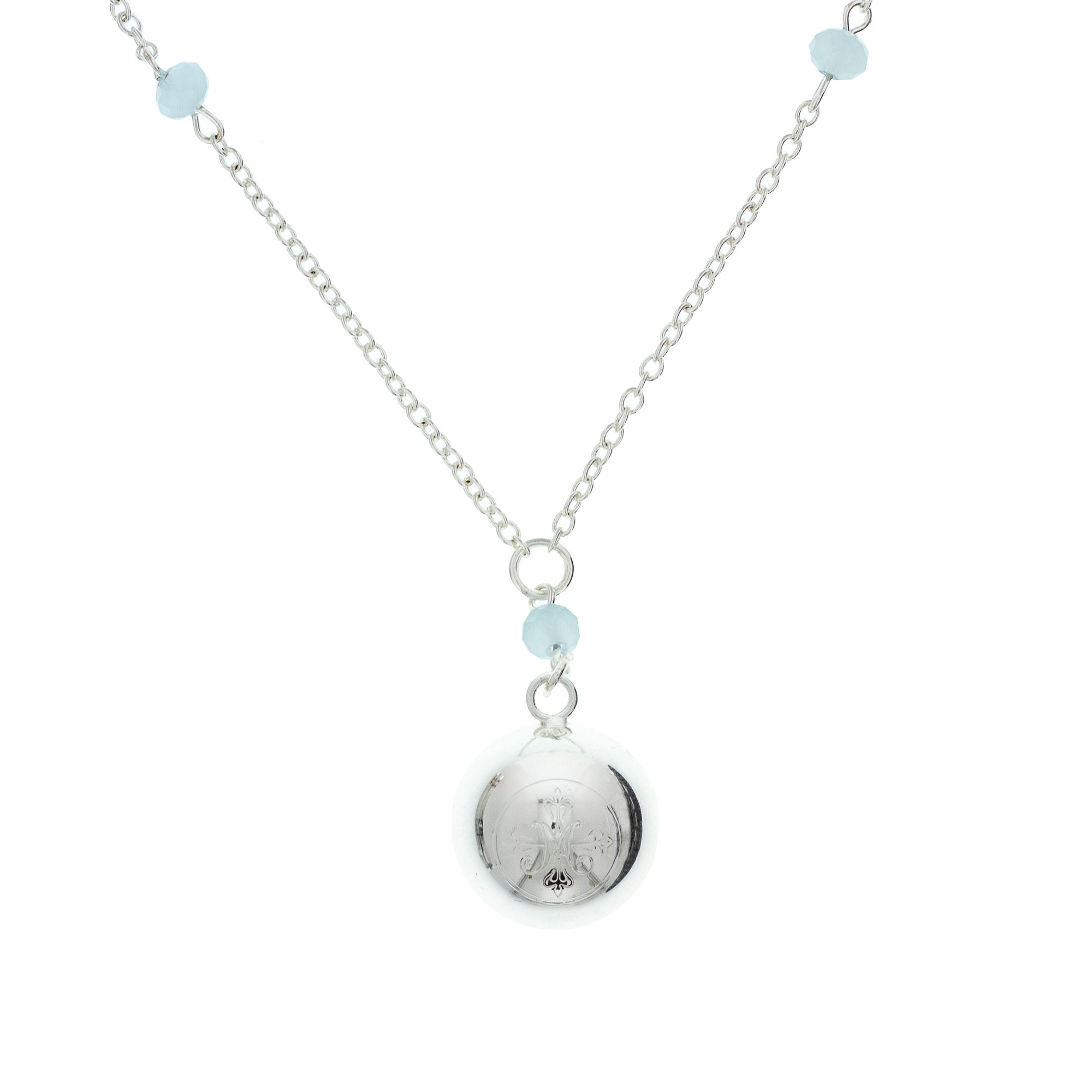 Choirs of Angels Chime Necklace - Silver