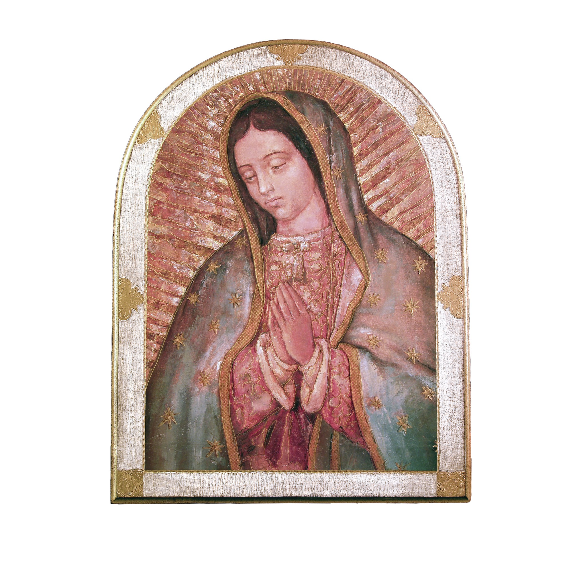 our lady of guadalupe plaque 23x31