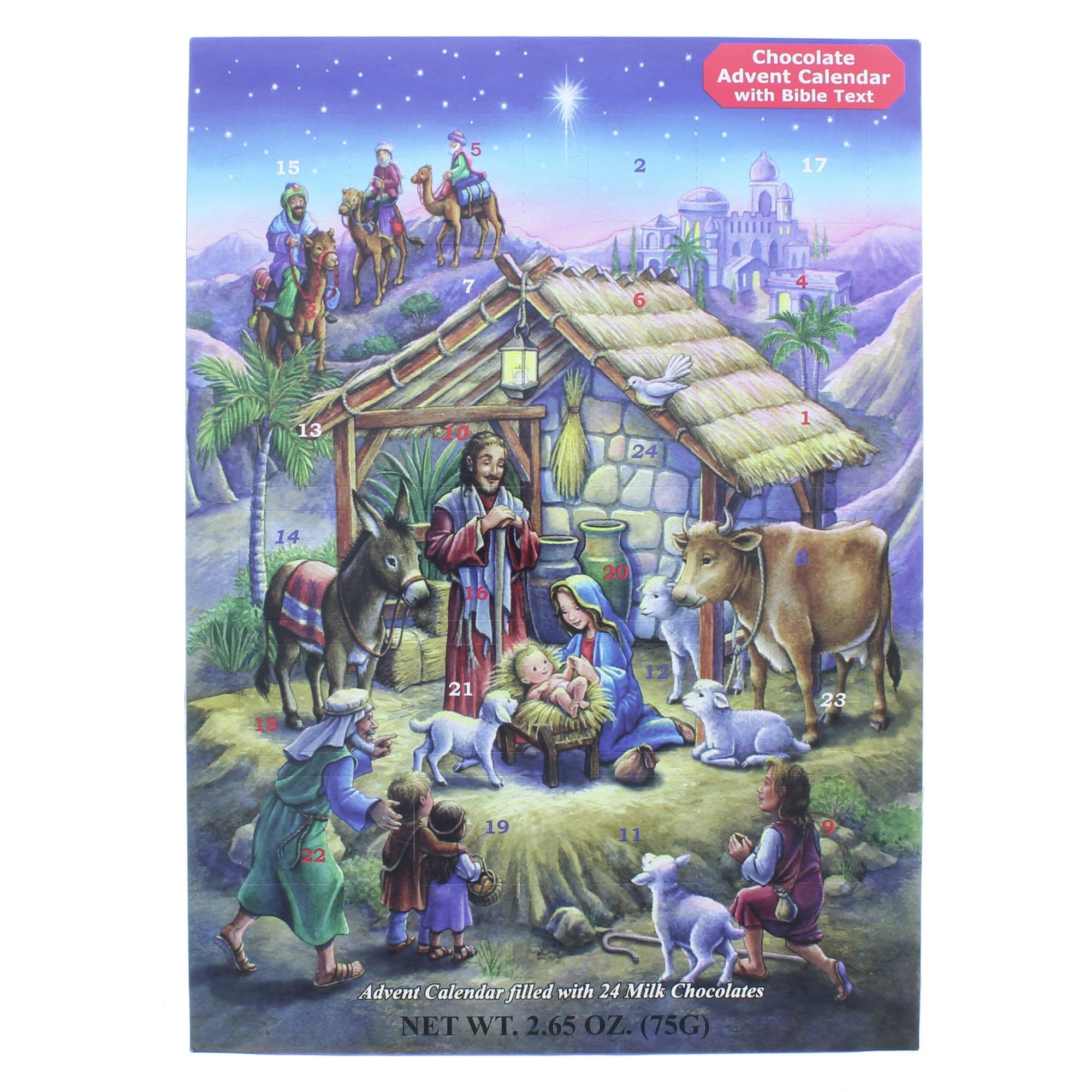 Peaceful Prince Advent Calendar w/ Chocolate   The Catholic Company