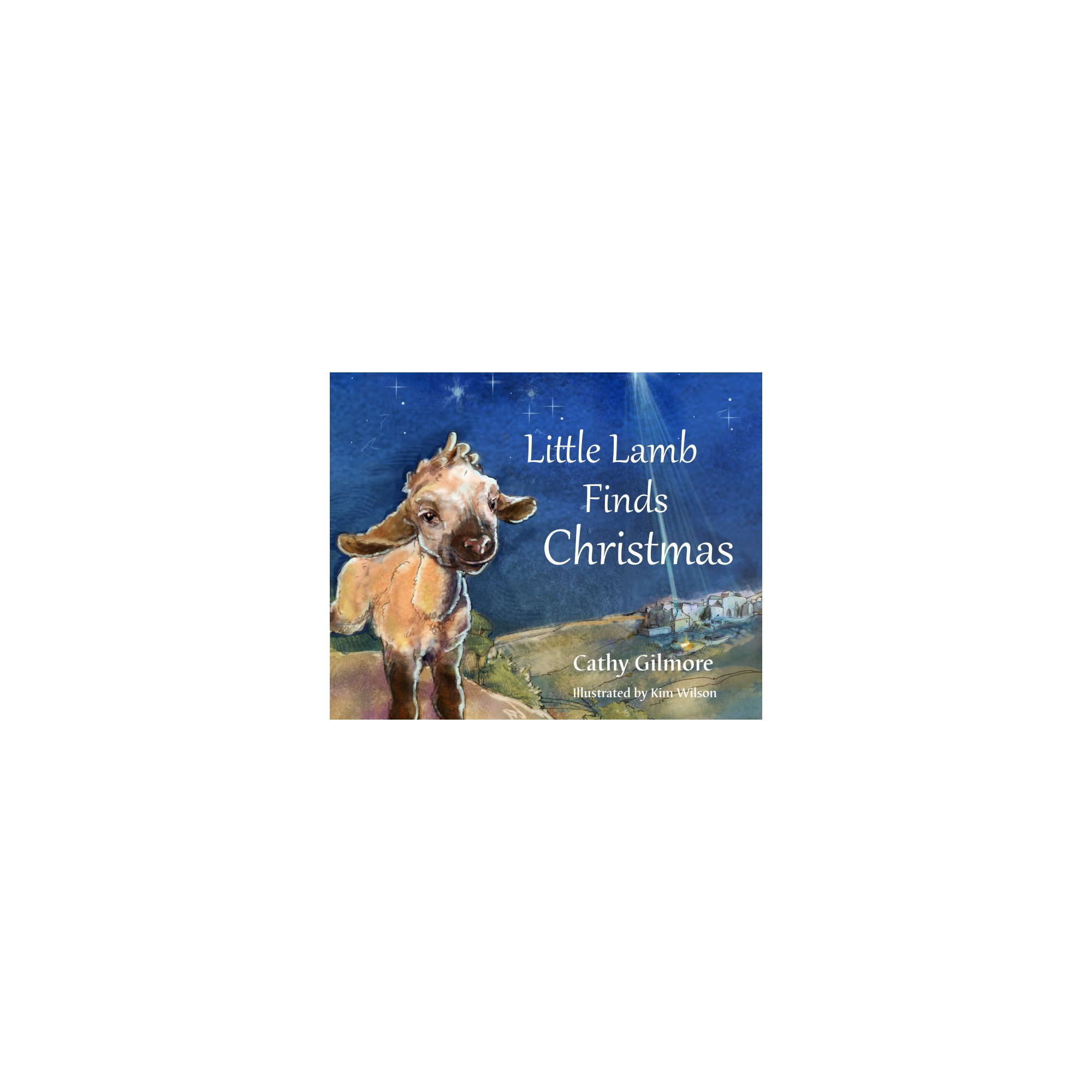 Fine Little Lamb Finds Christmas The Catholic Company Easy Diy Christmas Decorations Tissureus
