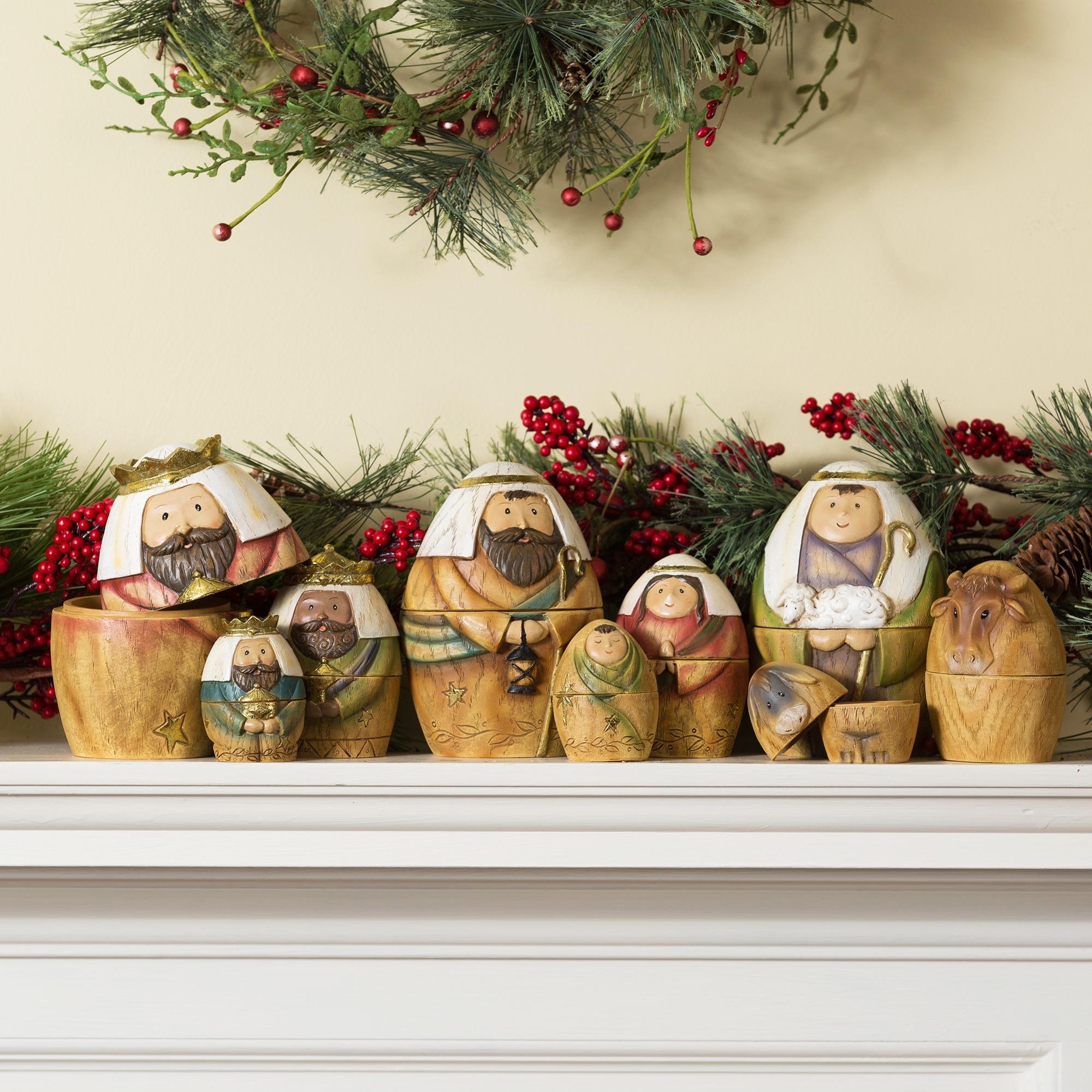 Nativity Nesting Dolls Set | The Catholic Company
