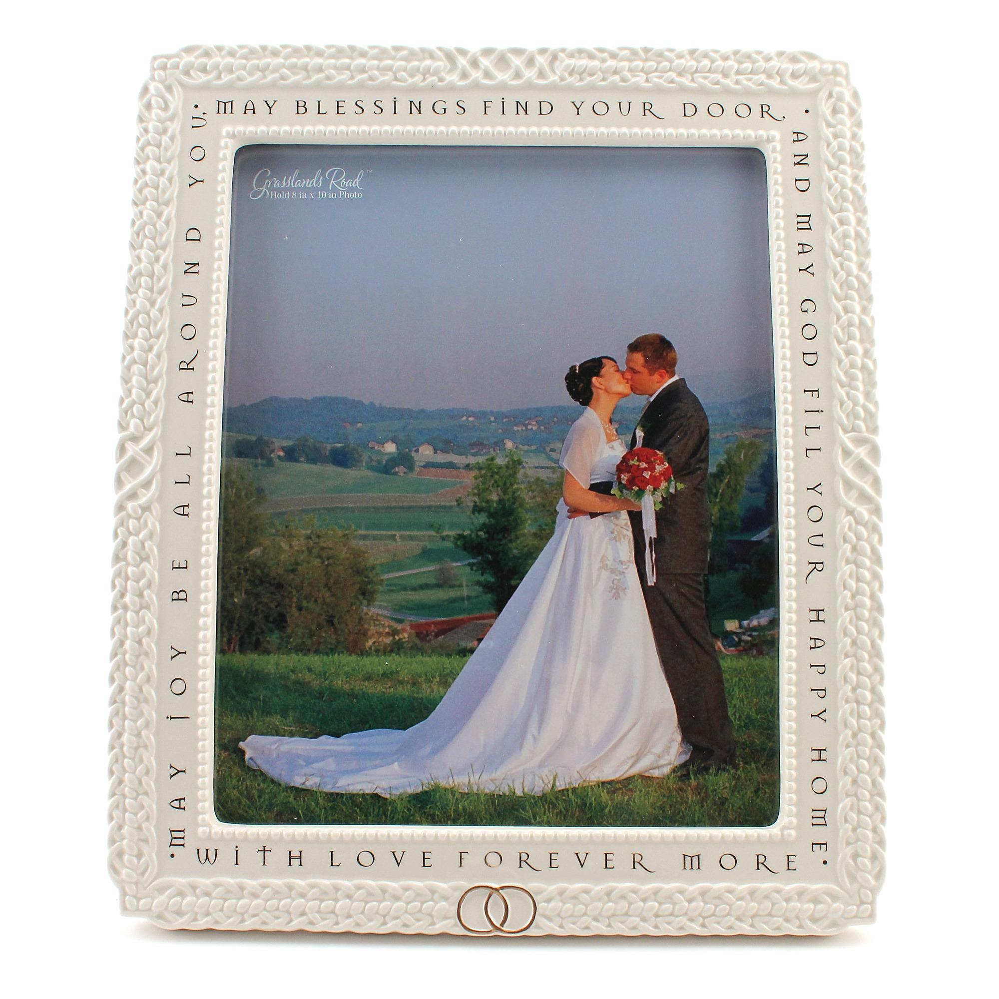 Irish Blessing Wedding Photo Frame | The Catholic Company