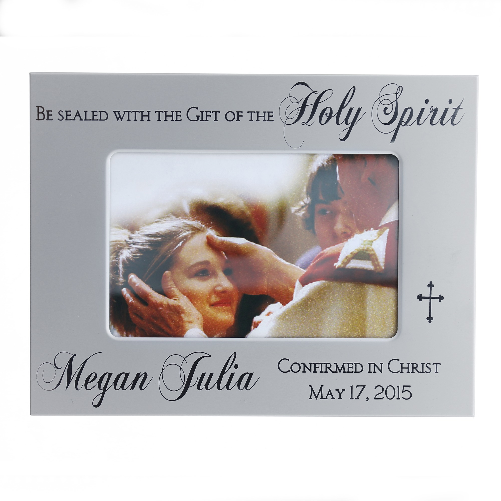 Confirmation albums and picture frames the catholic company personalized confirmation frame jeuxipadfo Image collections