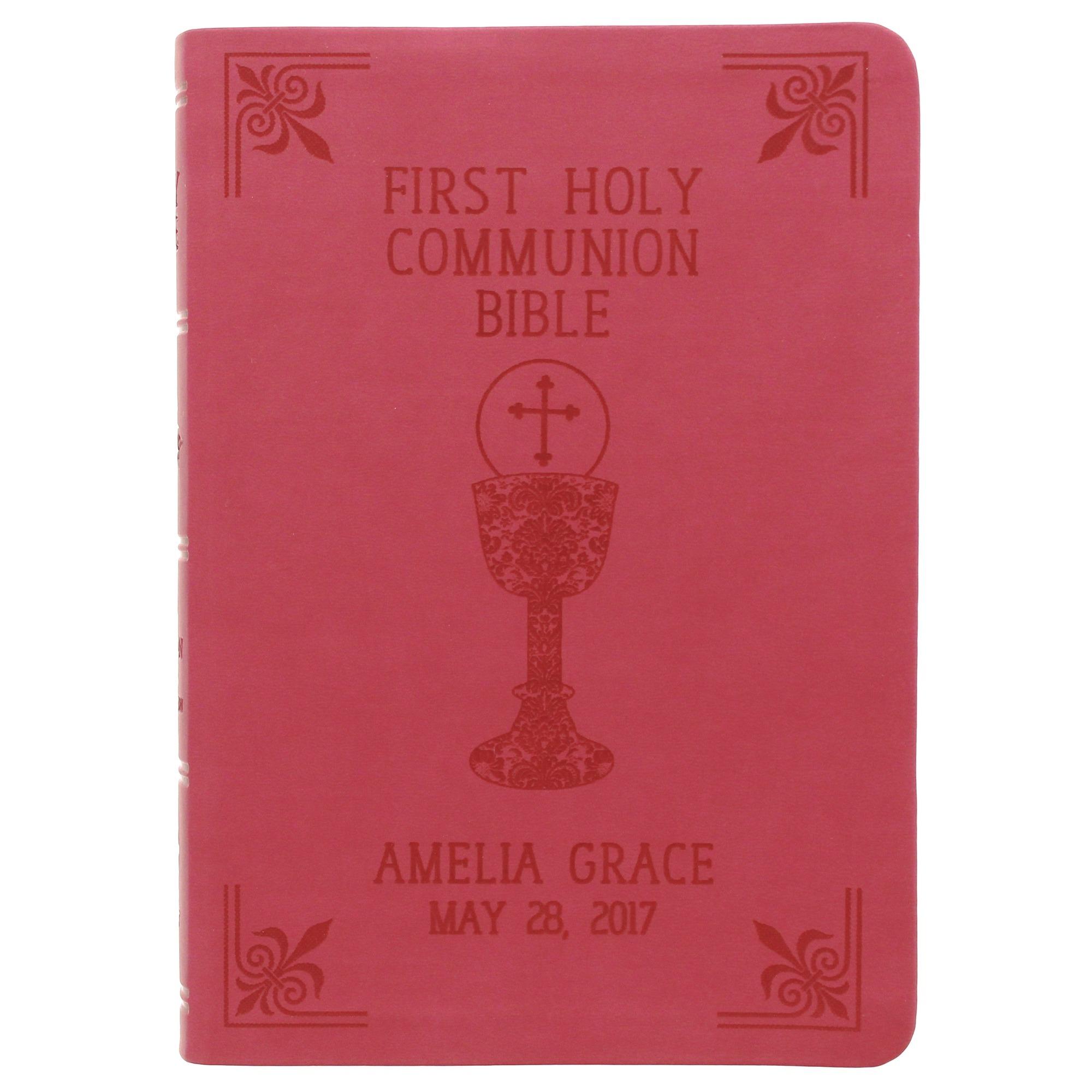 Personalized First Communion Bible | The Catholic Company