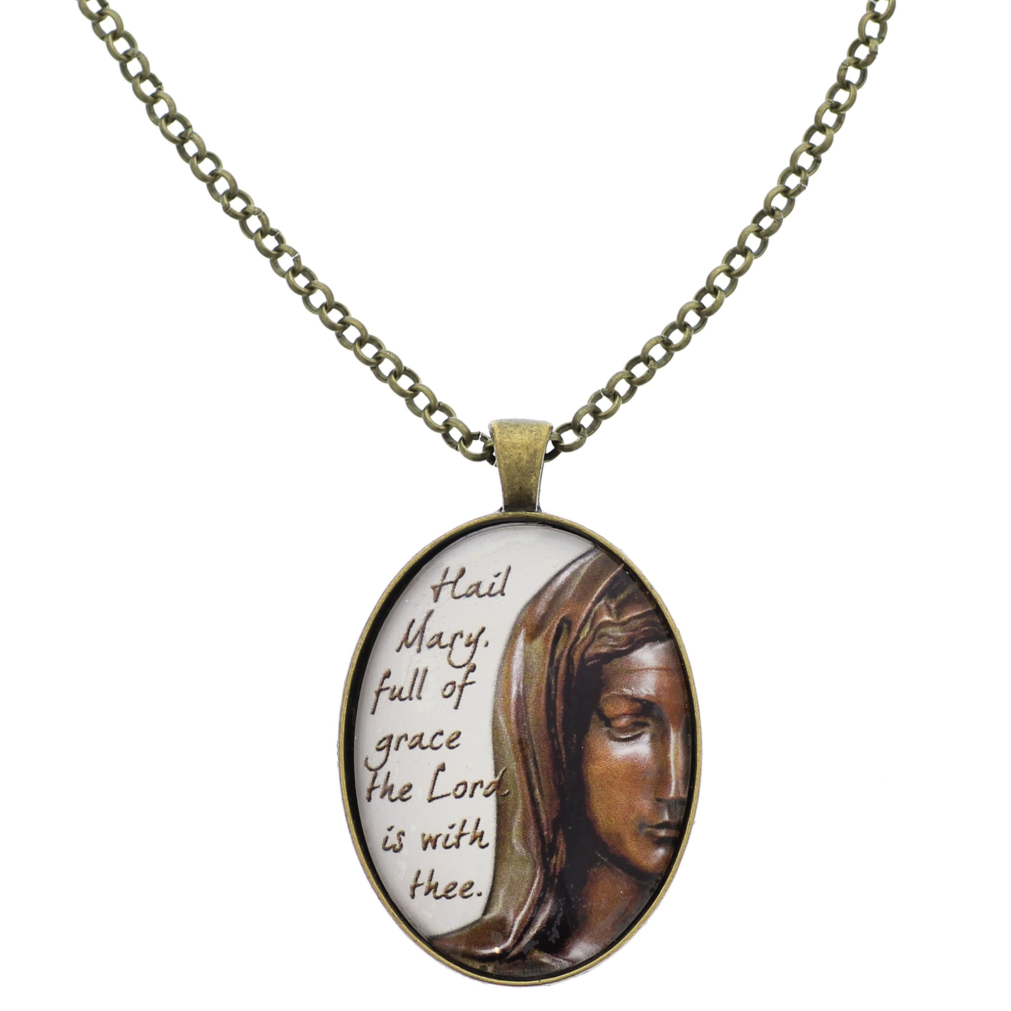 virgin mary embossed pendant product eternity jewelry free shipping overstock in today watches gold icon