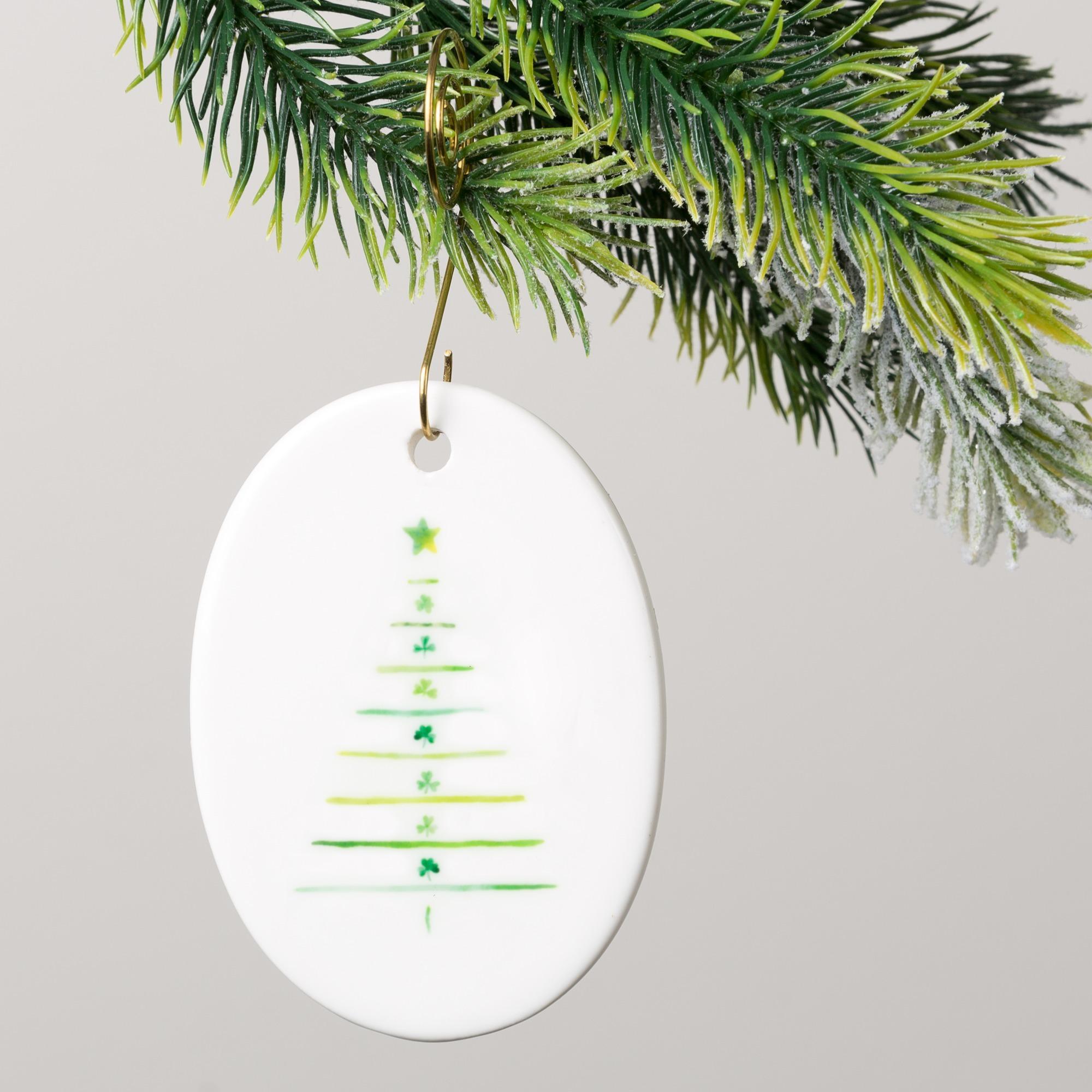 Irish Blessing Shamrock Tree Ornament | The Catholic Company
