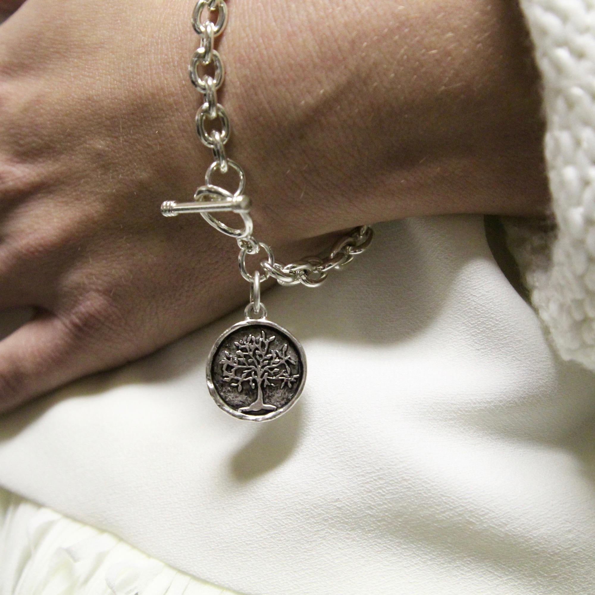 e597df0d3 Tiffany Style Tree of Life Bracelet | The Catholic Company