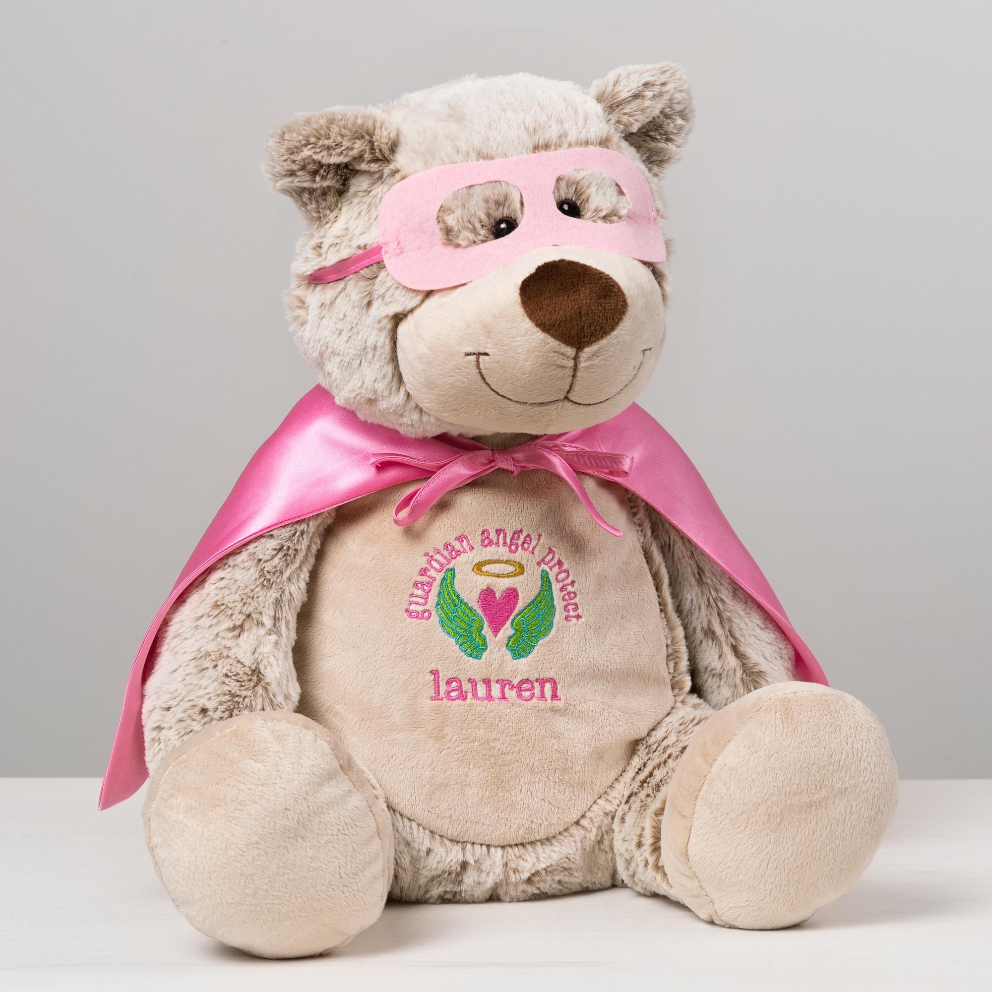 Guardian Angel Superhero Bear Buddy | The Catholic Company