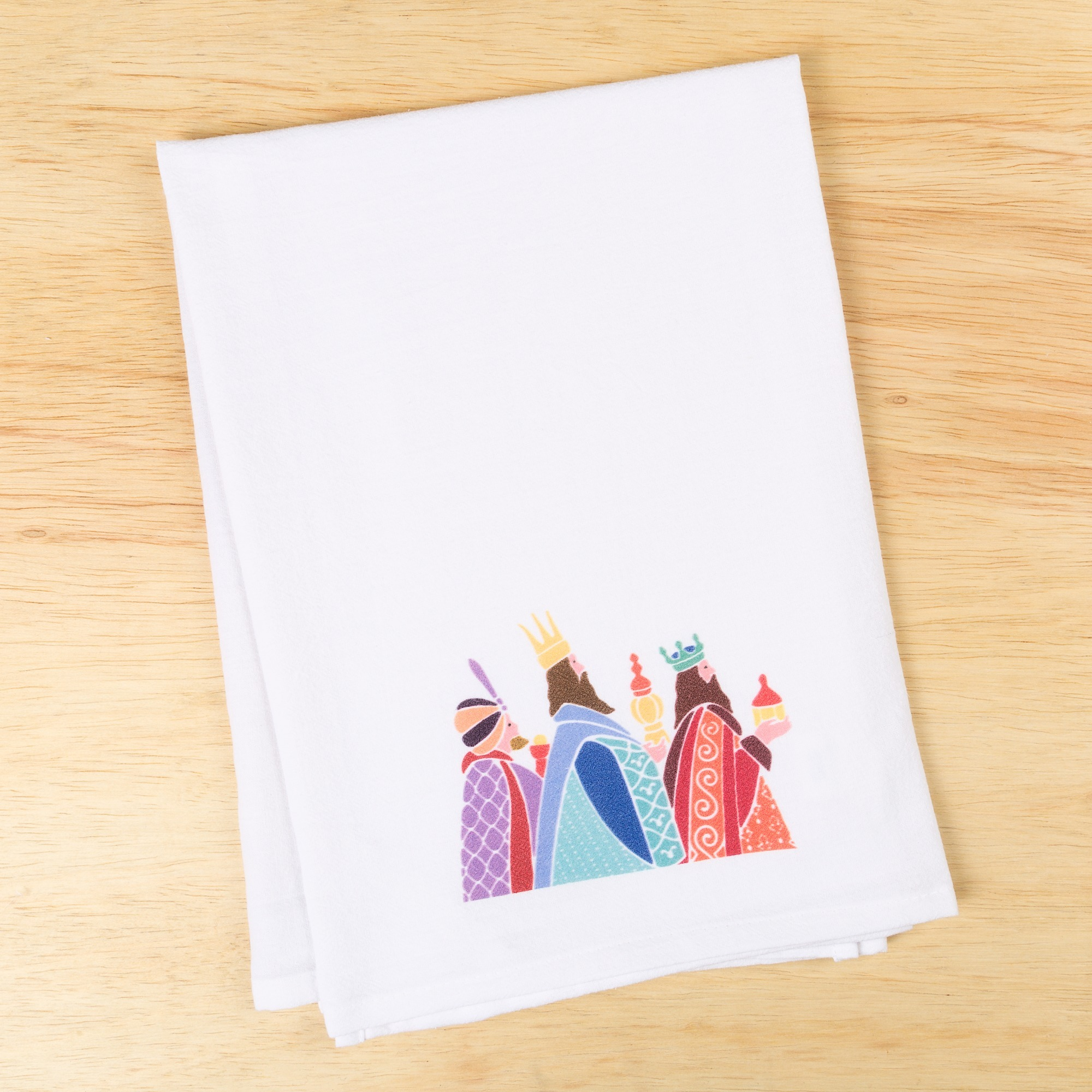 3 Kings Flour Sack Dish Towel The Catholic Company