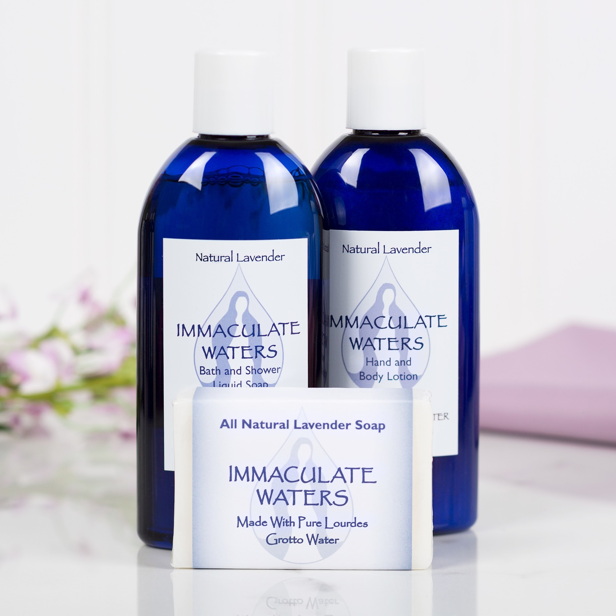 Immaculate Waters Lavender Set (3-Pack) | The Catholic Company
