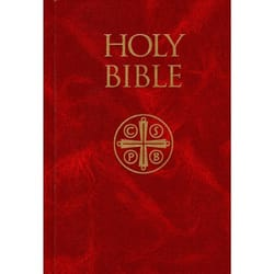 New American Bible - Revised Edition, Burgundy Hardcover