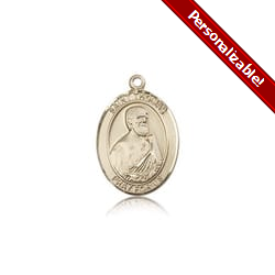 14kt Gold St. Thomas the Apostle Medal