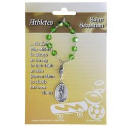 St Sebastian Amp St Christopherdecade Rosary For Athletes