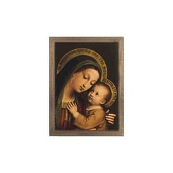 Our Lady Of Good Counsel Ornate Gold Frame 18x24 The