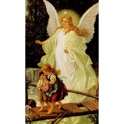 Guardian Angel Personalized Prayer Card Priced Per Card