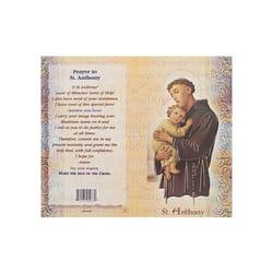 St Anthony Mini Lives Of The Saints Folded Prayer Card
