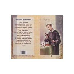 St Gerard Of Majella Mini Lives Of The Saints Folded