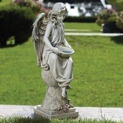 Solar Angel Garden Statue The Catholic Company