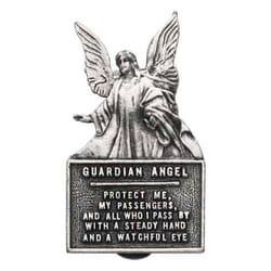 Guardian Angel Protect Us Visor Clip The Catholic Company