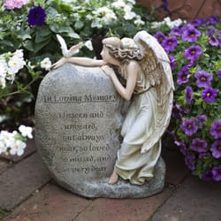 Memorial Angel Garden Figure The Catholic Company