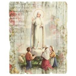 Our Lady Of Fatima Panel Artwork 14 Quot The Catholic Company