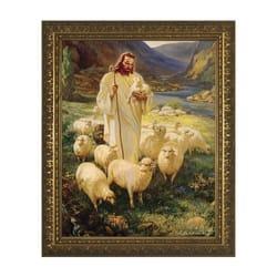 Good Shepherd W Gold Frame The Catholic Company