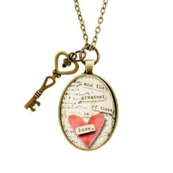 Personalized Love Necklace