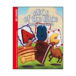 ABC's of the Bible Coloring Book (Pre K)