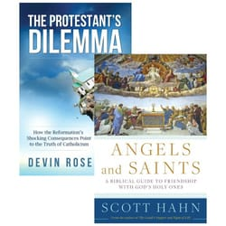 Angels & Saints and The Protestant's Delima (2 Book Set)