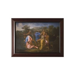 Baptism of Our Lord w/ Cherry Frame