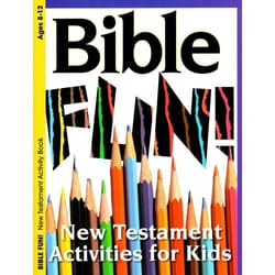 Bible Fun New Testament Activity Book