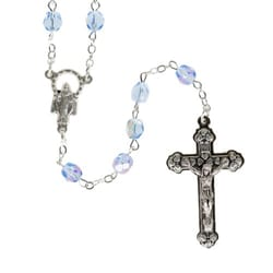 Birthstone Rosary - December