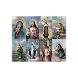 Bonella Series 3 Personalized Prayer Card - Assorted Subjects (Priced Per Card)