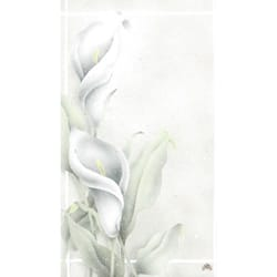 Calla Lilies Series Personalized Prayer Cards  (Priced Per Card)