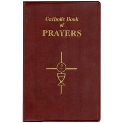 Catholic Book of Prayers - Brown Flex Cover (Large Print)