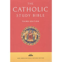 Catholic Study Bible - NABRE, Hardcover