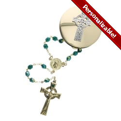 Celtic Rosary Gift Set