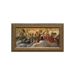 Concert of Angels by Gaulli w/ Gold Frame