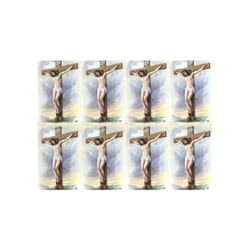 Crucifixion Series II Personalized Prayer Cards  (Priced Per Card)