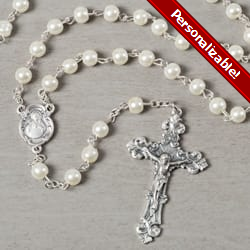 Deluxe Pearl Rosary