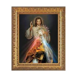 Divine Mercy and John Paul II Monstrance