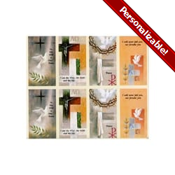 Dove Series Personalized Prayer Card (Priced Per Card)