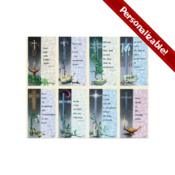 Eterna Series Personalized Prayer Card (Priced Per Card)