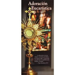Eucharistic Adoration - Spanish Edition (Pkg of 50)