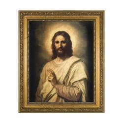 Figure of Christ w/ Gold Frame