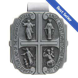 Four Way Medal Visor Clip
