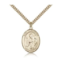 Gold Filled St. Alphonsus Pendant w/ chain
