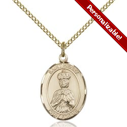Gold Filled St. Henry II Pendant w/ Chain