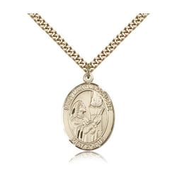 Gold Filled St. Mary Magdalene Pendant w/ chain